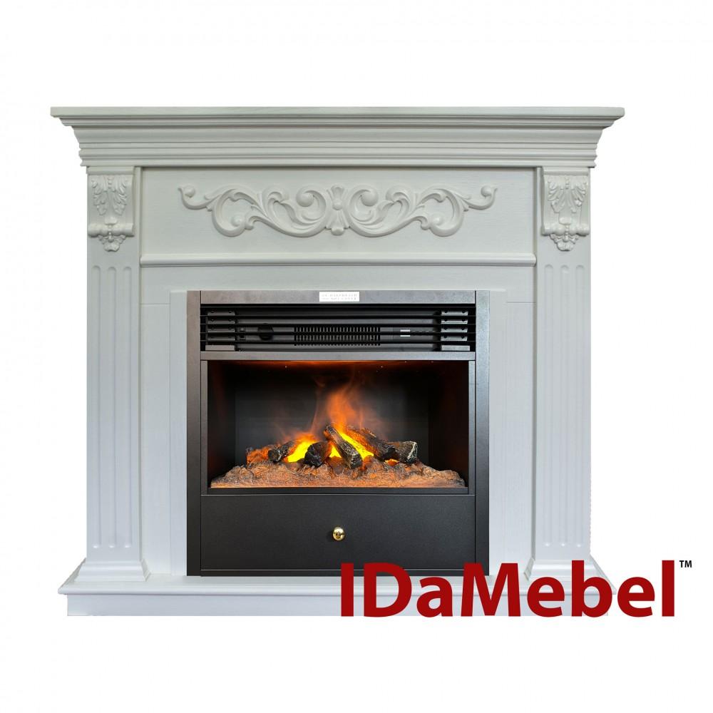Каминокомплект IDaMebel Marseille Белый Ясень Etna SF05